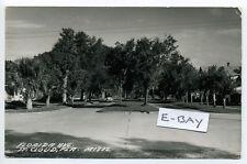 St. Cloud FL Florida (Osceola Co) RPPC real photo Florida Ave street view 1960