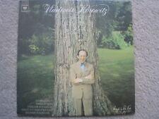VLADIMIR HOROWITZ NEW RECORDINGS OF CHOPN RECORD LP