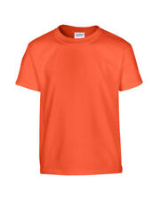 GILDAN CHILDREN'S T-SHIRT 100% SOFT COTTON PLAIN COMFORT COLOURS BOYS GIRLS KIDS
