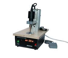 220v 28khz Pneumatic Ultrasonic Spot Welder Cloth Bonding Machine With 8mm Head