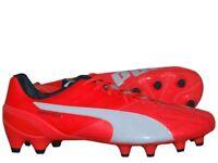 Puma evoSpeed 1.4 Lth FG Fußballschuh Leder Nocken Fussball Schuh Gr. 41 - 48