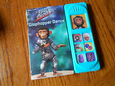 Space Chimps Play-a-Sound Book: Glophopper Dance - NEW IN CELLO