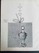 1951 Christian Dior diorama perfume bottle vintage fragrance ad