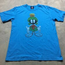 MARVIN THE MARTIAN Junk Food 50/50 Made in USA T Shirt Soft Looney Tunes
