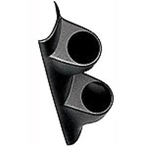 """Auto Meter 10402 Gauge Mount A-Pillar Pod Dual, 2-1/16"""", Cutlass / Grandprix"""