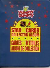 "1992""HUMPTY DUMPTY""Complete Set 50 mini card +2 checklist serie 1&2+Binder!"