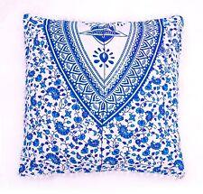 Indian Sanganeri Print  Euro Sham Boho Throw Pillow Decorative Cushion Covers  2