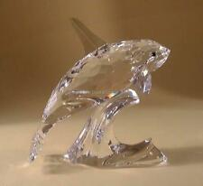 SWAROVSKI CRYSTAL ORCA 622939 MINT BOXED RETIRED RARE