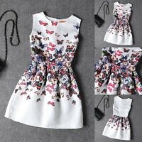 Sexy New Womens Sleeveless Print Belted Skater Party Dress Mini Dress Cocktail