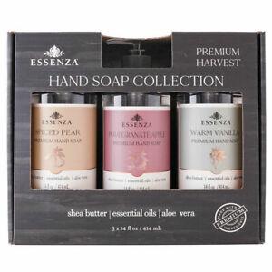 Essenza Hand Soap Collection, Premium Harvest (14 oz., ea. 3 pk)
