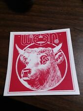 Ween Cow Boognish sticker.1 sticker. Not poster. Not pin.3x3 inches vinyl