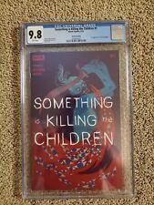 Something is Killing the Children #1 Boom! Studios 9/19 SECOND PRINTING CGC 9.8.
