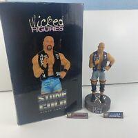 "WWE WWF Wrestling Wicked Figure STONE COLD STEVE AUSTIN 10"" (VERY RARE)"