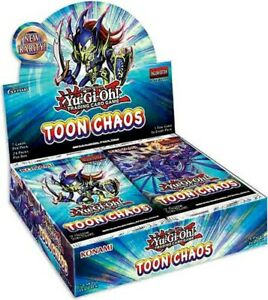 YuGiOh Toon Chaos TOCH-EN Choose Your Ultra Super and Rare Yugioh TCG Cards