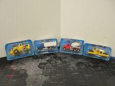 Lot of 4 Vintage 1988 Hot Wheels Clipped Cards NIP PETERBILT CEMENT DUMP TRUCK