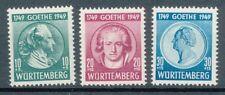 Württemberg Nr. 44/46, einwandfrei postfrisch, siehe Bild.