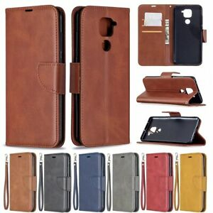 For Xiaomi Redmi 9 9A 9C Note 9 Magnetic Leather Wallet Flip Stand Case Cover