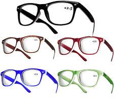 Unisex Women Men READING GLASSES +2.5 Eyeglasses Trendy Reader LA