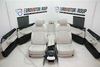 BMW Comfort Pelle Sedili Interni IN Pelle 5er G31 Dakota Elfenbeinweiss