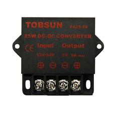 12V/24V to 5V  5A/10A Converter Step Down Regulator Regulated Power Transformer