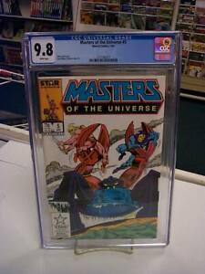 MASTERS of the UNIVERSE #5 (Marvel, 1987) CGC Graded 9.8! ~HE-MAN ~White Pages