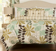 3-Piece English Garden King Size Duvet Cover Set