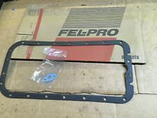 New Fel Pro Engine Oil Pan Gasket Set OS 4350 AD