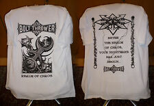 Bolt thrower - White realm T Shirt XL NEW Benediction Carcass Morgoth Asphyx