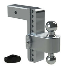 "Weigh Safe LTB8-2.5 Adjustable 8"" 180 Hitch Ball Mount 2.5"" Shaft 14,500 lbs."