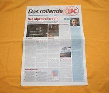Kässbohrer Das rollende K LKW 1992 Prospekt Truck Brochure Depliant Catalogue