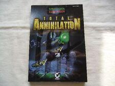 TOTAL ANNIHILATION - Strategiebuch - Lösungsbuch