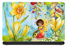 10 inch Artistic/Floral-Laptop Vinyl Skin/Decal/Sticker/Cover -LP15
