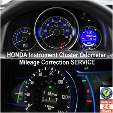 Honda 1998-2017 Instrument Gauge Cluster Mileage Correction/Programming Service