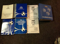 1996 FORD PROBE Service Shop Repair Manual Set W EVTM + Transmission BK + MORE