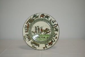 VERY RARE ROYAL DOULTON BAYEUX TAPESTRY COLLECTORS PLATE D2873