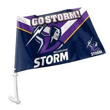Melbourne Storm Supporter NRL Car Flag
