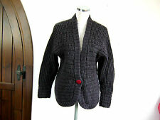 LUXURY ESSENZE CARDIGAN TG 44 SIZE M MOHAIR SETA LANA ALPAKA ORIGINALE