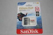 SanDisk Extreme Plus 32GB Micro SDHC SD 95MB/s 633x UHS-I with adapter FREE SHIP