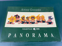 Anne Geddes Schmidt Panorama Jigsaw Puzzle 1000 Pieces Baby Sunflowers Flowers