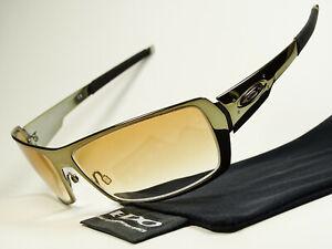 Oakley Spike Black Chrome Gradient Sonnenbrille Romeo Juliet Crosshair Whisker X
