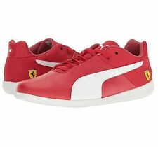 Puma Men s SF Future Cat Casual Sz US 12 M Red Leather Sneakers Shoes  120 e06d058a5