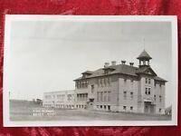 Baker, Montana High School RPPC -Early Photo Postcard
