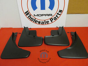 JEEP GRAND CHEROKEE Front And Rear Molded Splash Guards NEW OEM MOPAR
