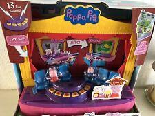 Nuevo Y En Caja Peppa Pig-Peppa de la etapa Playset-Sonidos Nuevo