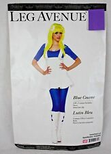 Blue Gnome Halloween Costume Adult Ladies Women Pretend Fantasy Sz S 4-8