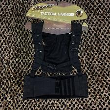 NEW Dye Tactical Assault Molle Paintball Vest Harness Pod Pack - Black