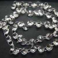 Crystal Clear Acrylic Bead Garland Chandelier Chain Hanging Wedding Decoration
