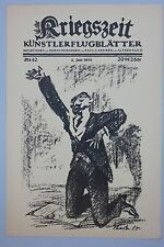 Ottomar Starke (1886-1962) - D´Annunzio / Erich Büttner -Im Argonner Wald, 1.WK