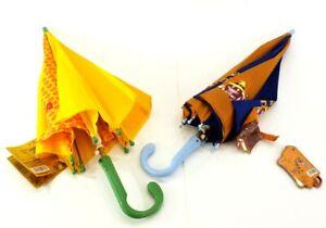 Regenschirme 2 Stück Stockschirm  für Jungen und Mädchen Bunt