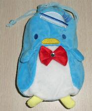 Tuxedosam Penguin Plush drawstring shut Multipurpose Bag Pouch small